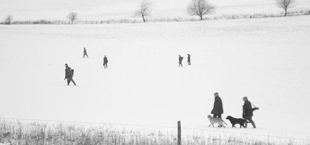 Angmering Park Estate - shooting-winter